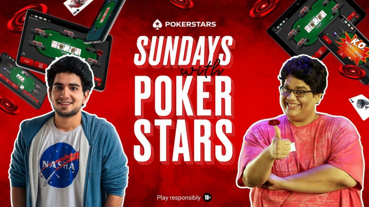Get Ready to Spice Up Your Weekends With PokerStars India's 'Sundays With PokerStars' Ft. Ace Comedians Samay Raina & Tanmay Bhat